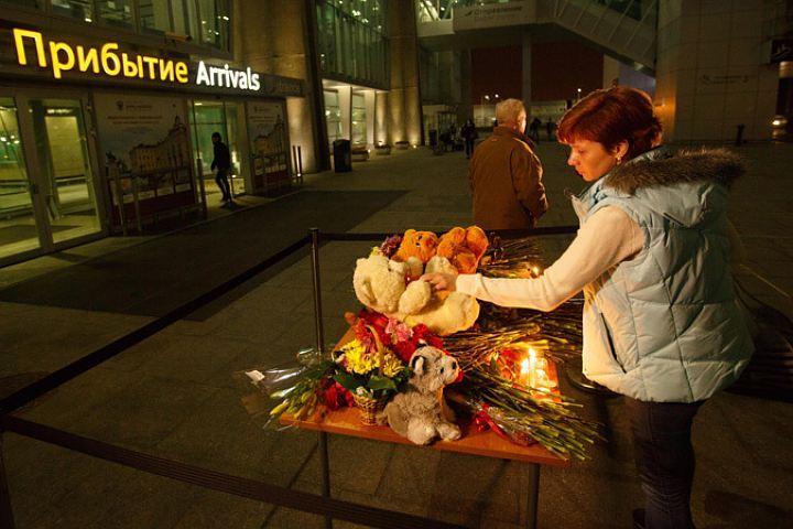 Около Пулково появился «памятник» жертв крушения над Синаем