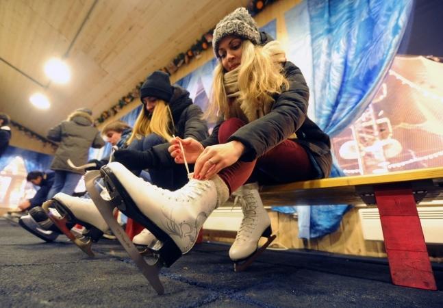 ВЯрославле откроют 13 ледовых катков илыжную дорогу