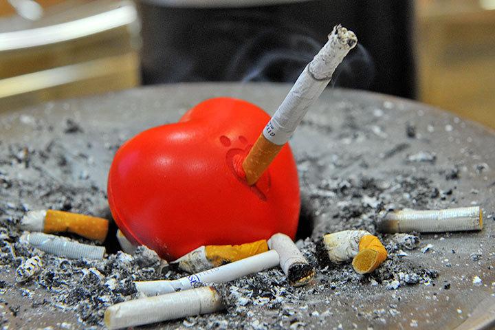 Курение - враг здоровья.