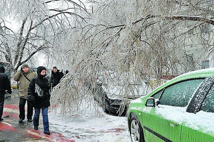 В выходные в Нижегородскую область могут вернуться ледяные дожди.