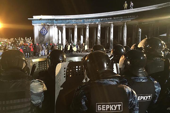 В России снимают свою киноверсию кровавых событий на Майдане.