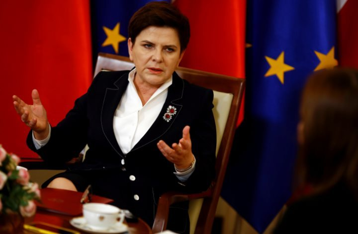 Кортеж польского премьера  попал вДТП вИзраиле