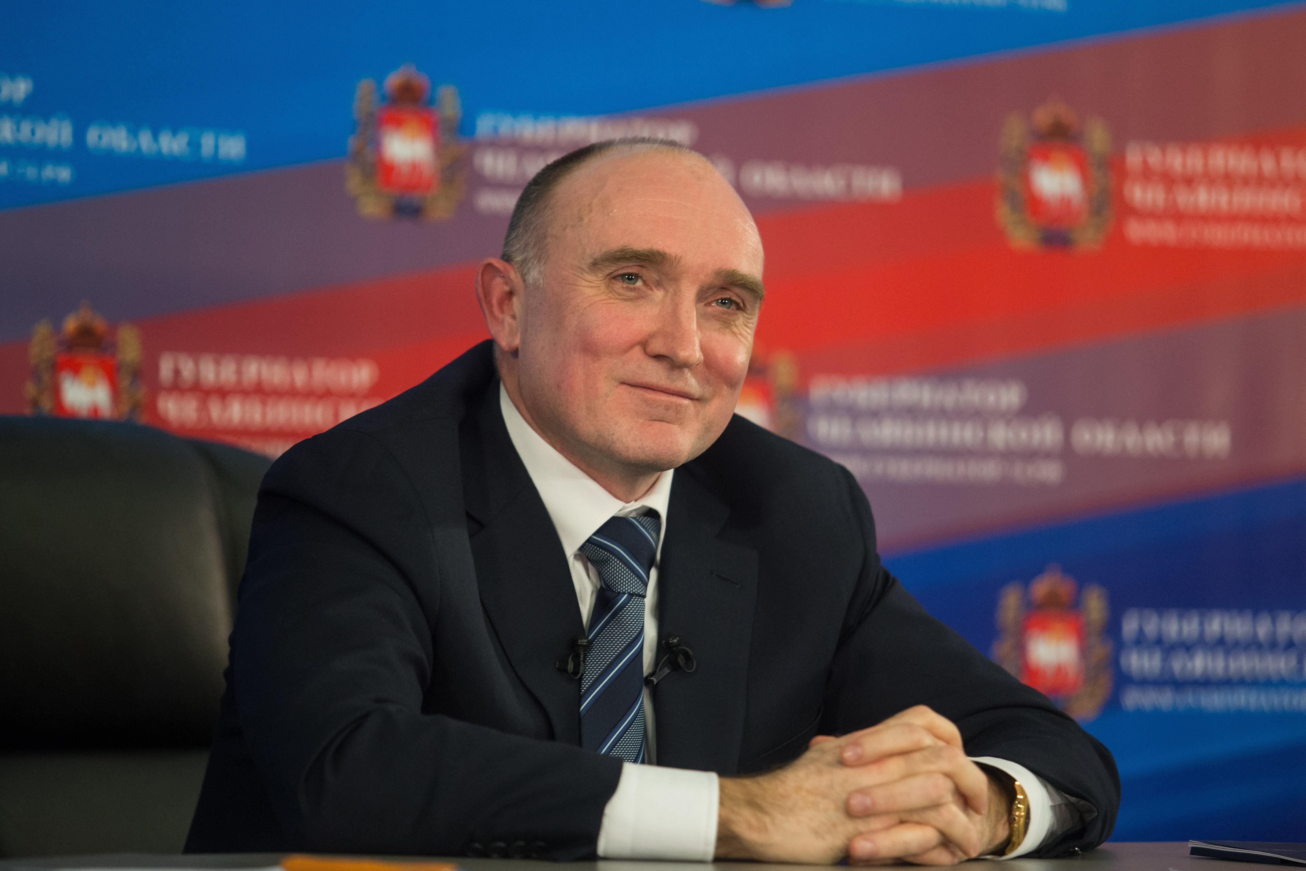 Борис Дубровский управляет регионом уже два года.