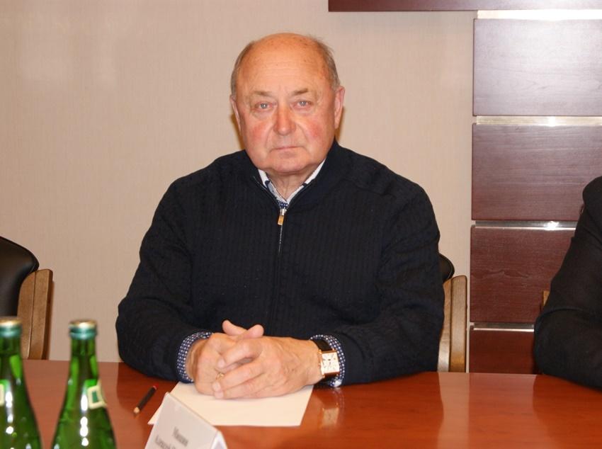 На фото заслуженный тренер России Алексей Мишин Фото: пресс-служба администрации Белгорода