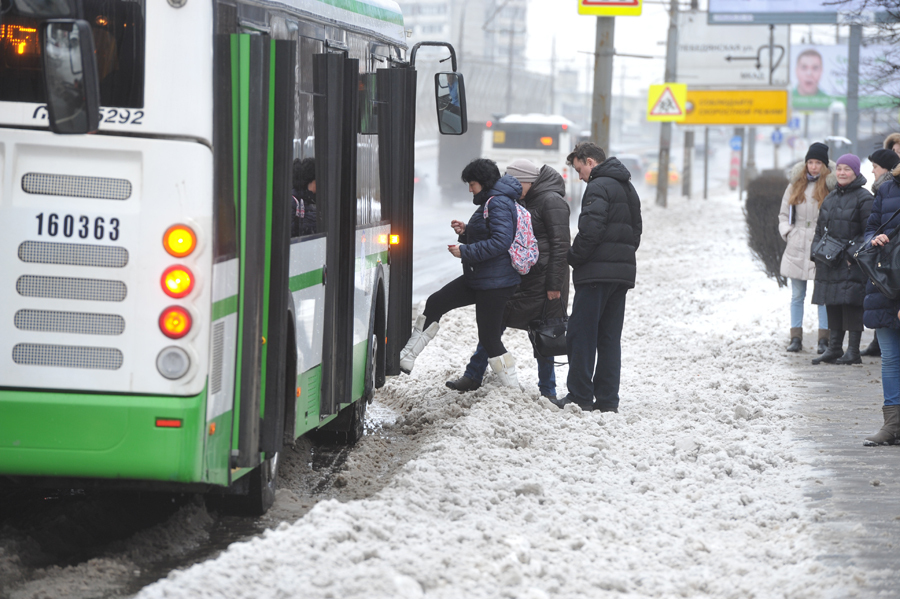 ВЧелябинске кондуктор троллейбуса едва невыбросила ребенка намороз