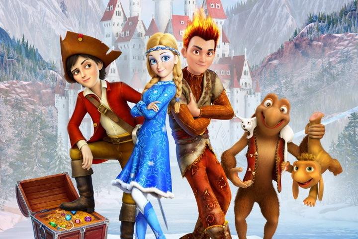 Студия Wizart обнародовала трейлер мультфильма «Снежная королева 3»