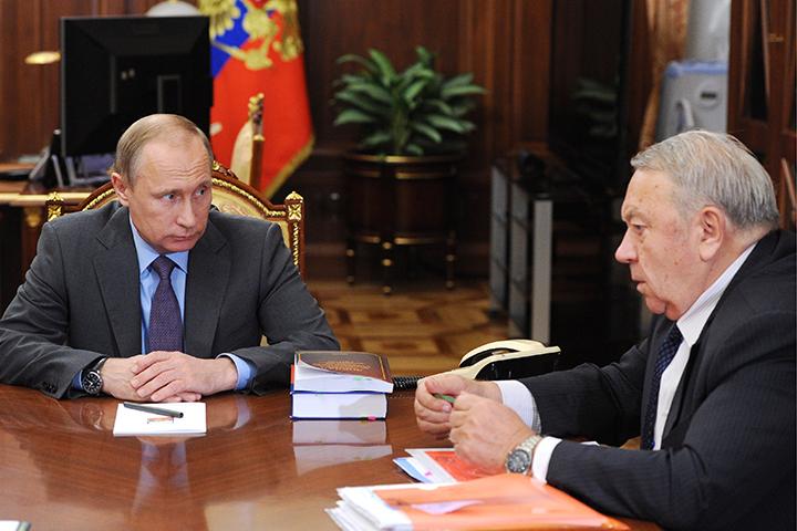 Владимир Путин устроил разнос президенту РАН Владимиру Фортову.