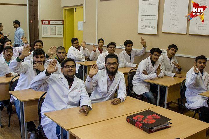 Indian students dream of becoming doctors
