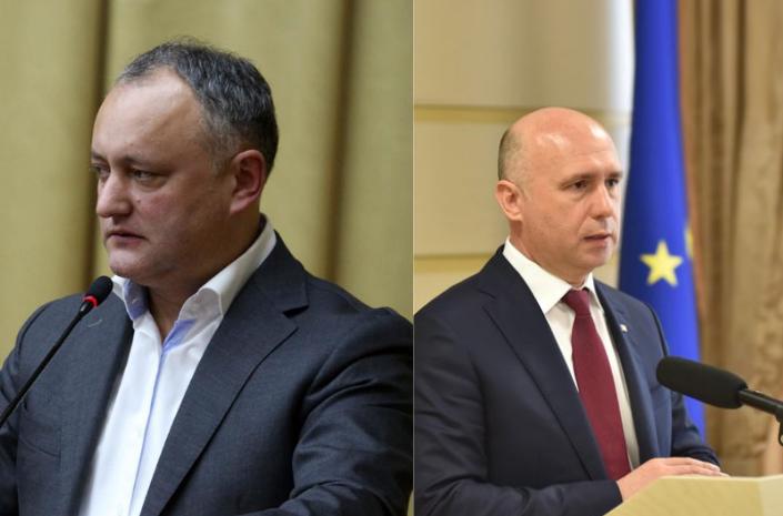 Игорь Додон и Павел Филип.