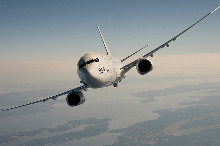 Норвегия намерена приобрести новые морские патрульные самолеты P8-A «Посейдон». Фото: с сайта Defence.Ru