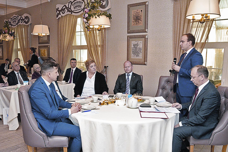 Круглый стол «Русские усадьбы» в Туле.