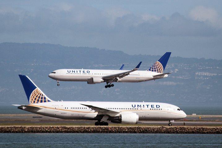 ВСША пассажирский Boeing вернулся ваэропорт из-за отказа мотора