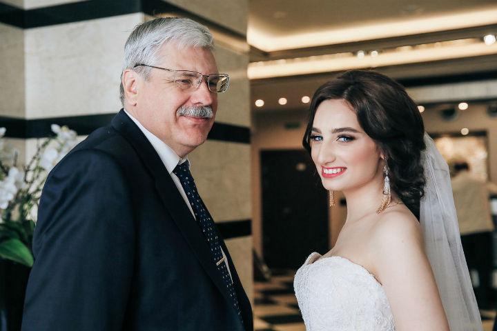 Отец и дочь за несколько месяцев до гибели.