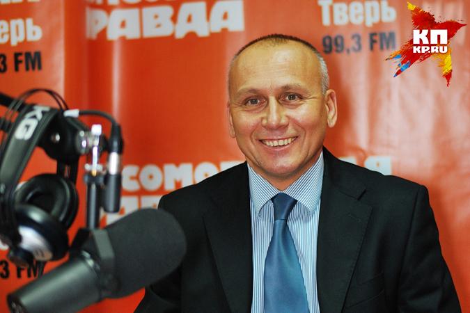 """Еще будучи главой Твери, Владимир Бабичев не раз становился гостем эфиров радио """"Комсомольская правда""""."""