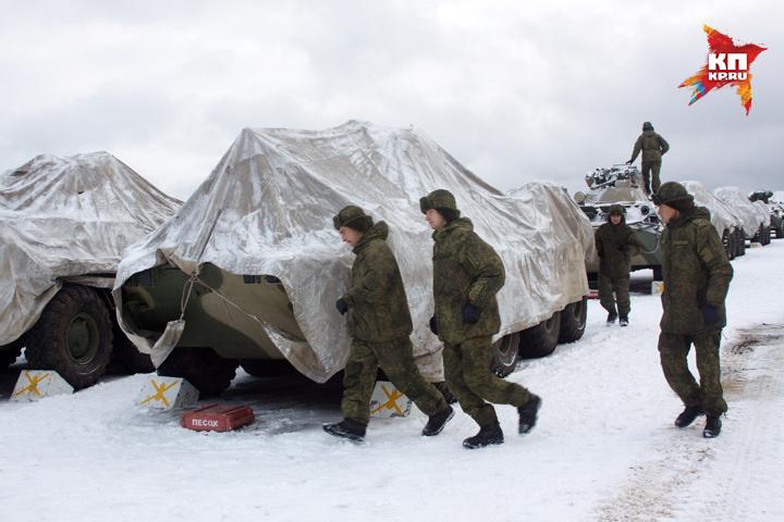 Для отработки практических навыков в Нижегородскую область прибыли более 1500 военнослужащих.