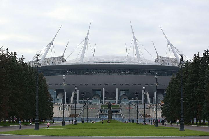 По словам чиновников, стадион готов на 95 процентов