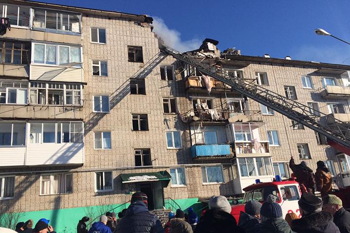 ВХабаровском крае возбудили дело пофакту взрыва газа вжилом доме
