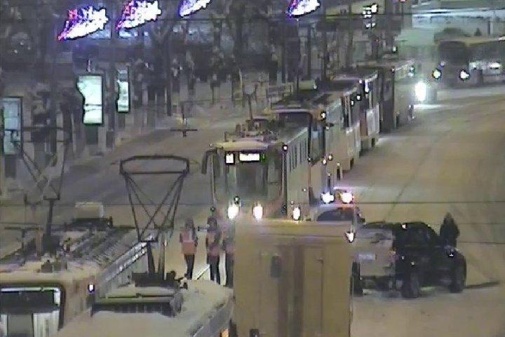 Жуткое ДТП вцентре Перми: блокировано движение трамваев