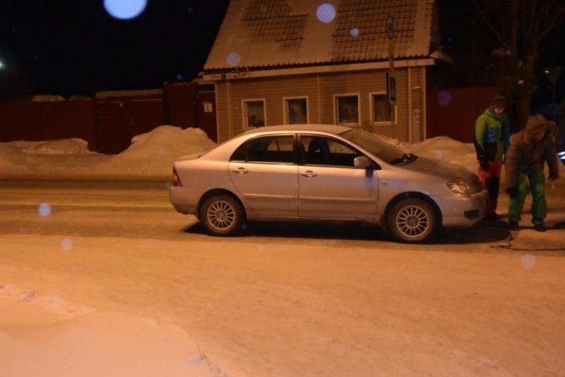 Под Екатеринбургом пешехода сбил шофёр 18 лет