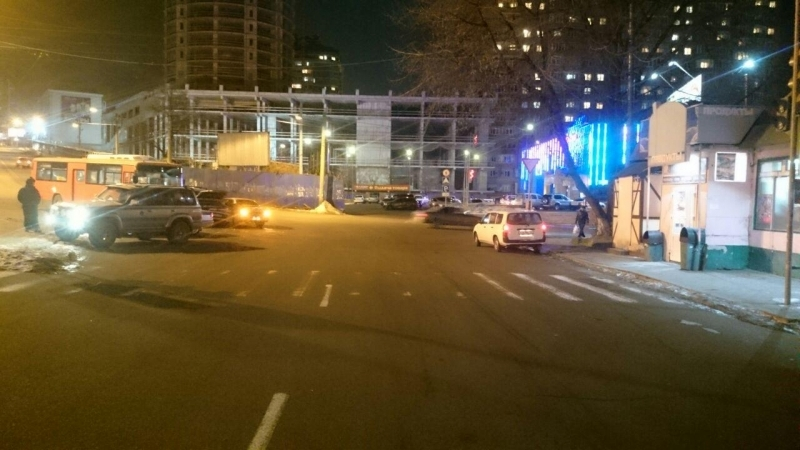ВоВладивостоке милиция проводит проверку ДТП сучастием пассажирского автобуса