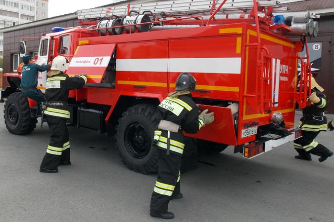 ВРадужном семья изчетырех человек пострадала впроцессе пожара