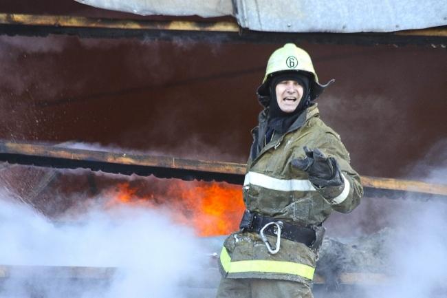 ВРязанской области пламя охватило дачный дом ибаню