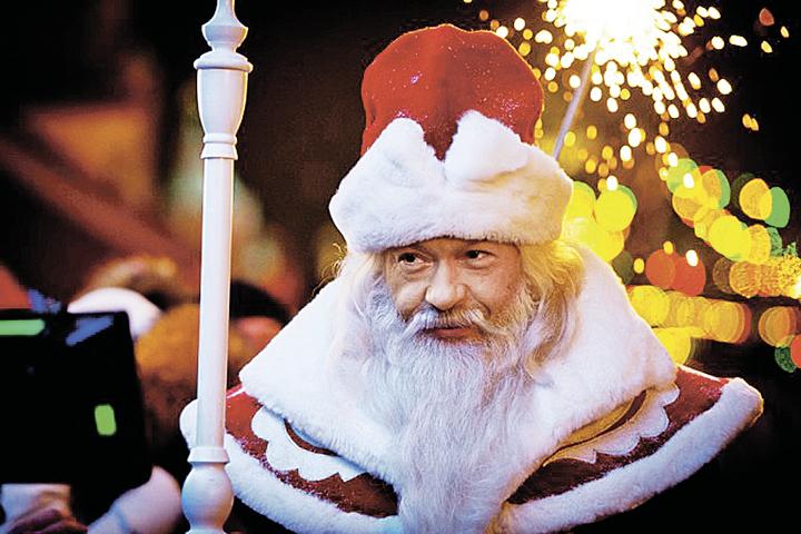 Федор Бондарчук пройдется по столичным квартирам вобразе Деда Мороза