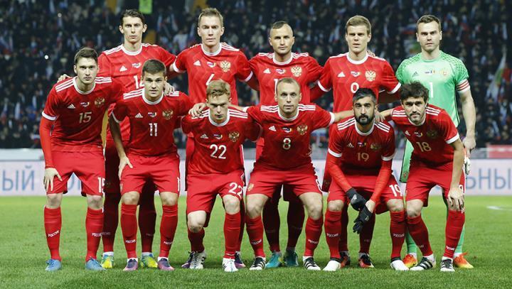 Сборная РФ пофутболу сыграет сБельгией вСочи
