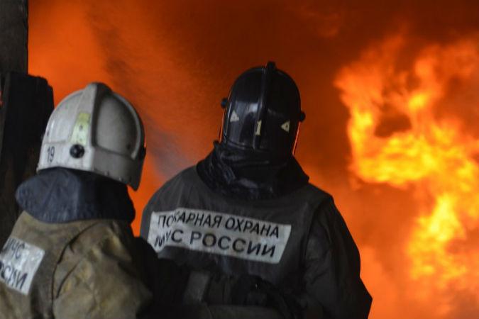 ВКропоткине зажегся магазин строительных материалов