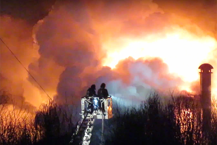 3 человека погибли и6 пострадали при пожаре вгостинице в столице