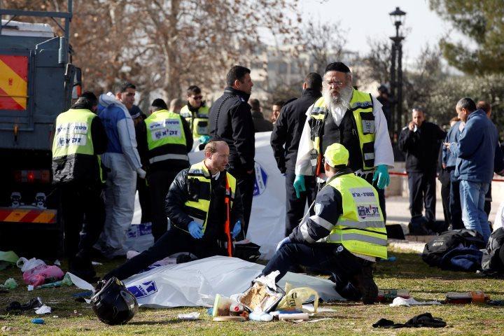 Среди пострадавших втеракте вИерусалиме граждан России нет