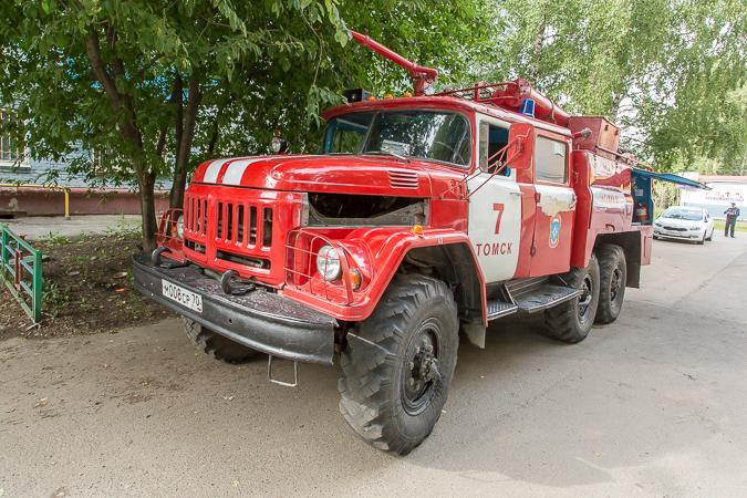 В Томской области появляются новые пожарные машины.