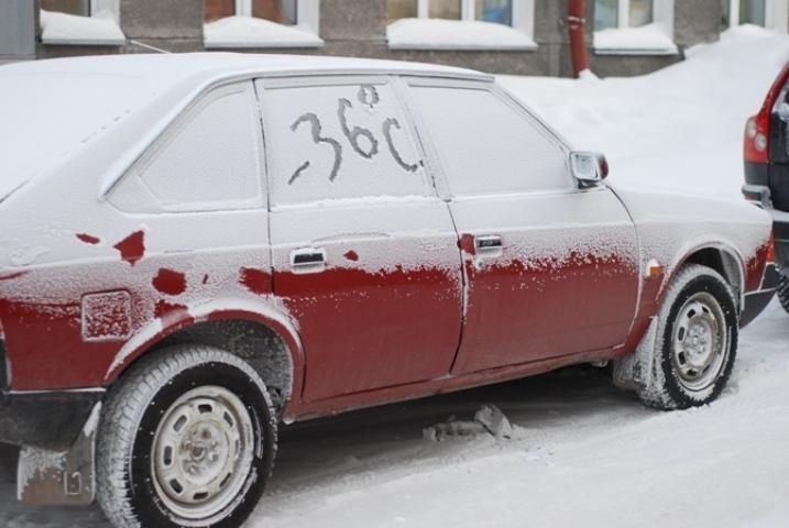 В Томске ожидаются сильные морозы.