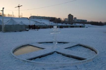 В Крещение на водоемах Тюменской области будет организовано 50 купелей. Фото ГУ МЧС по Тюменской области