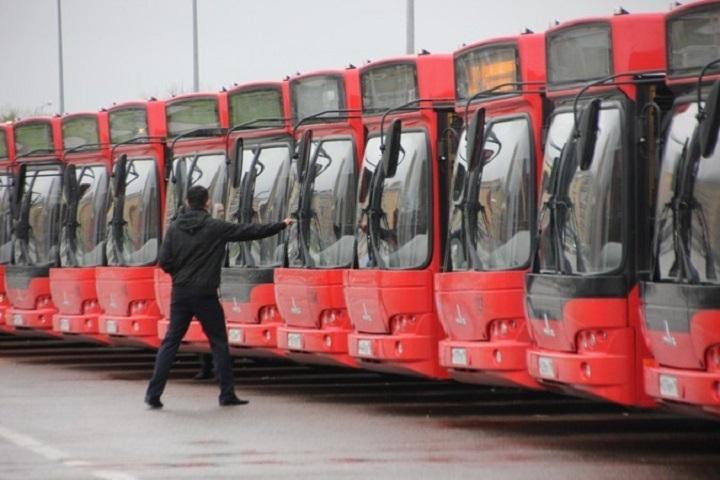 ВКазани в итоге столкновения 2-х автобусов пострадали два пассажира