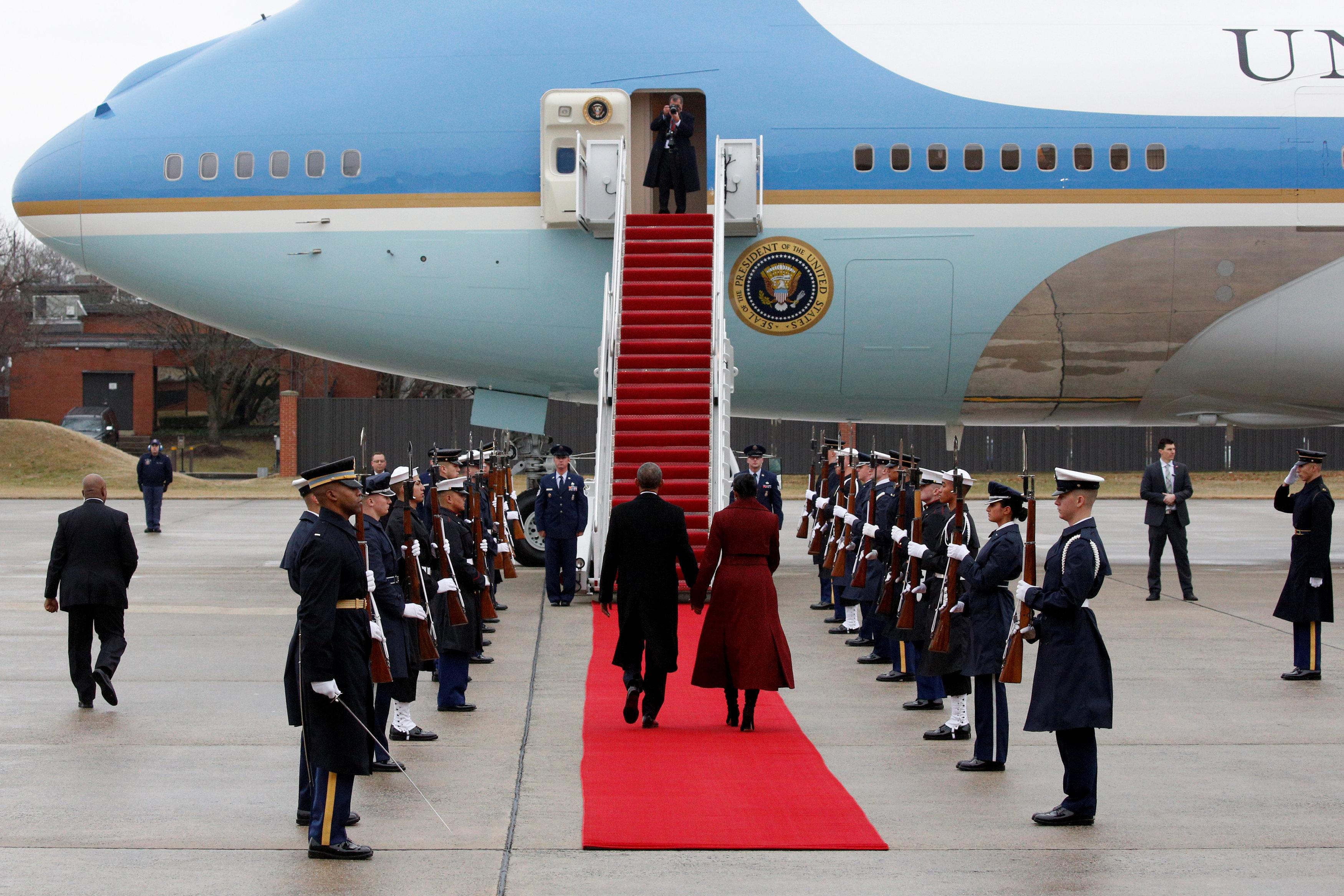 Вертолет Обамы недолетел доаэропорта Калифорнии