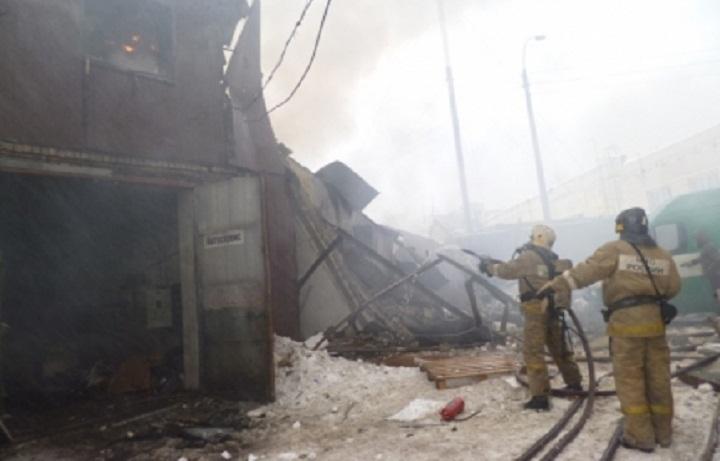 Подпольный автосервис сгорел вижевском микрорайоне Шунды