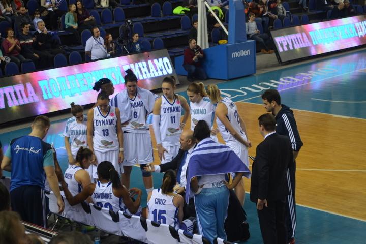 Баскетболистки курского «Динамо» одержали 13-ю победу подряд вЕвролиге, обыграв «Скио»