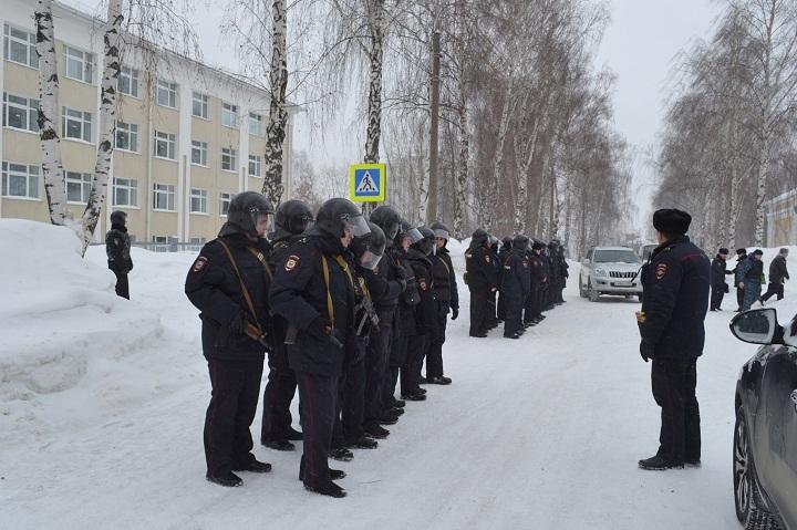 Антитеррористические учения прошли в национальном театре оперы ибалета вИжевске