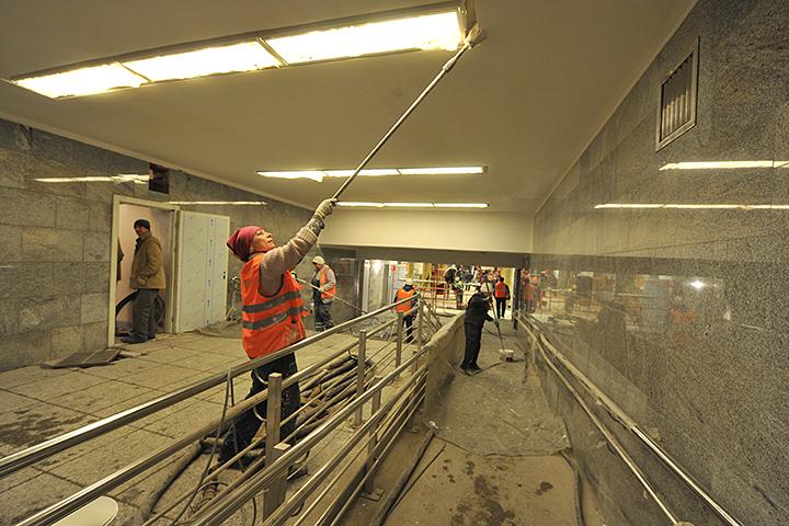 Западный вестибюль станции метро «Кузьминки» закроют 18 и19февраля