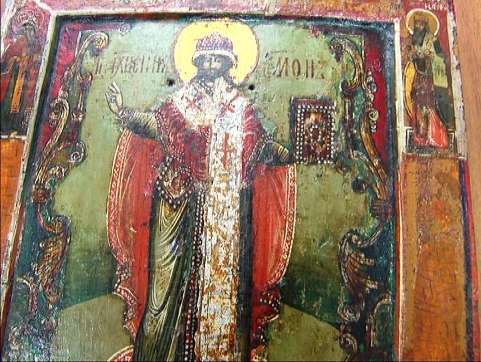 Вукраинском поезде отыскали редкую икону