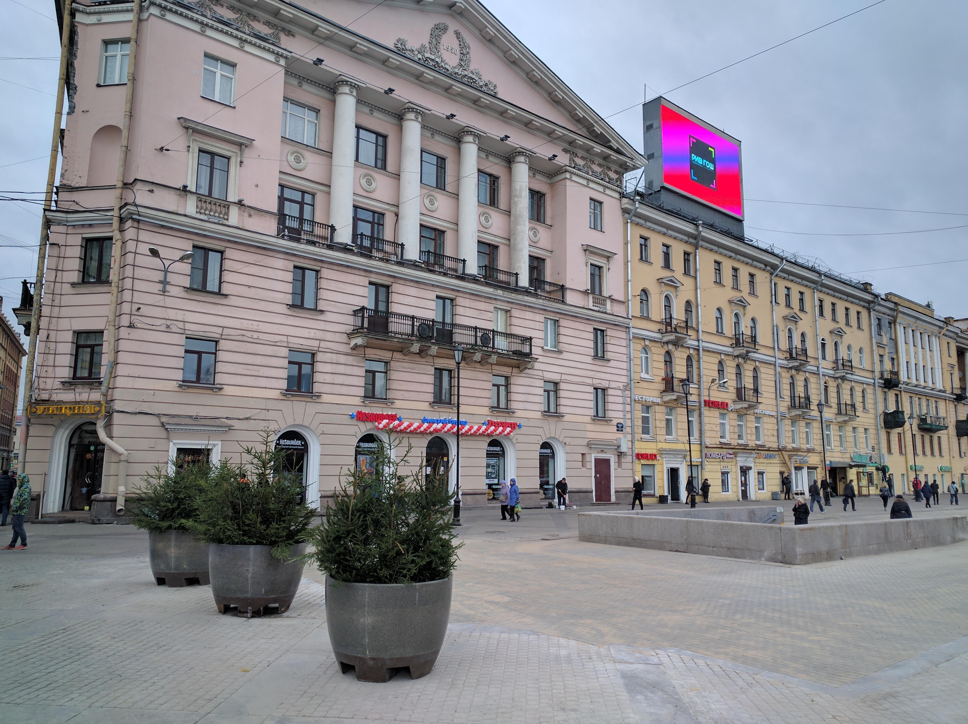 Петербуржцы ожидают озеленения и«окультуривания» Сенной площади