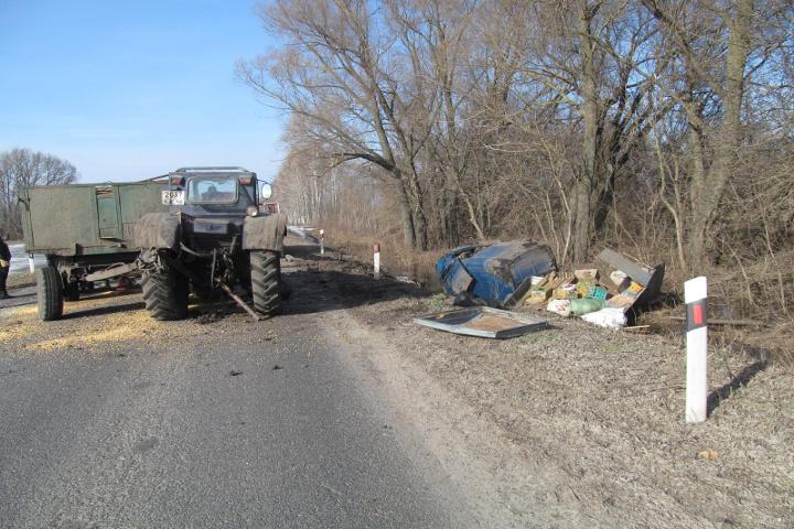 ВКурской области два человека погибли в трагедии  страктором