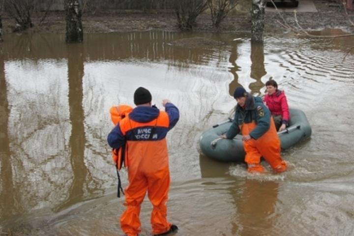 ВПрикамье впаводок может затопить 110 населенных пунктов