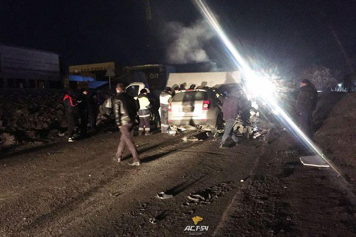 Встолкновении «Шевроле» и«ГАЗели» умер пешеход