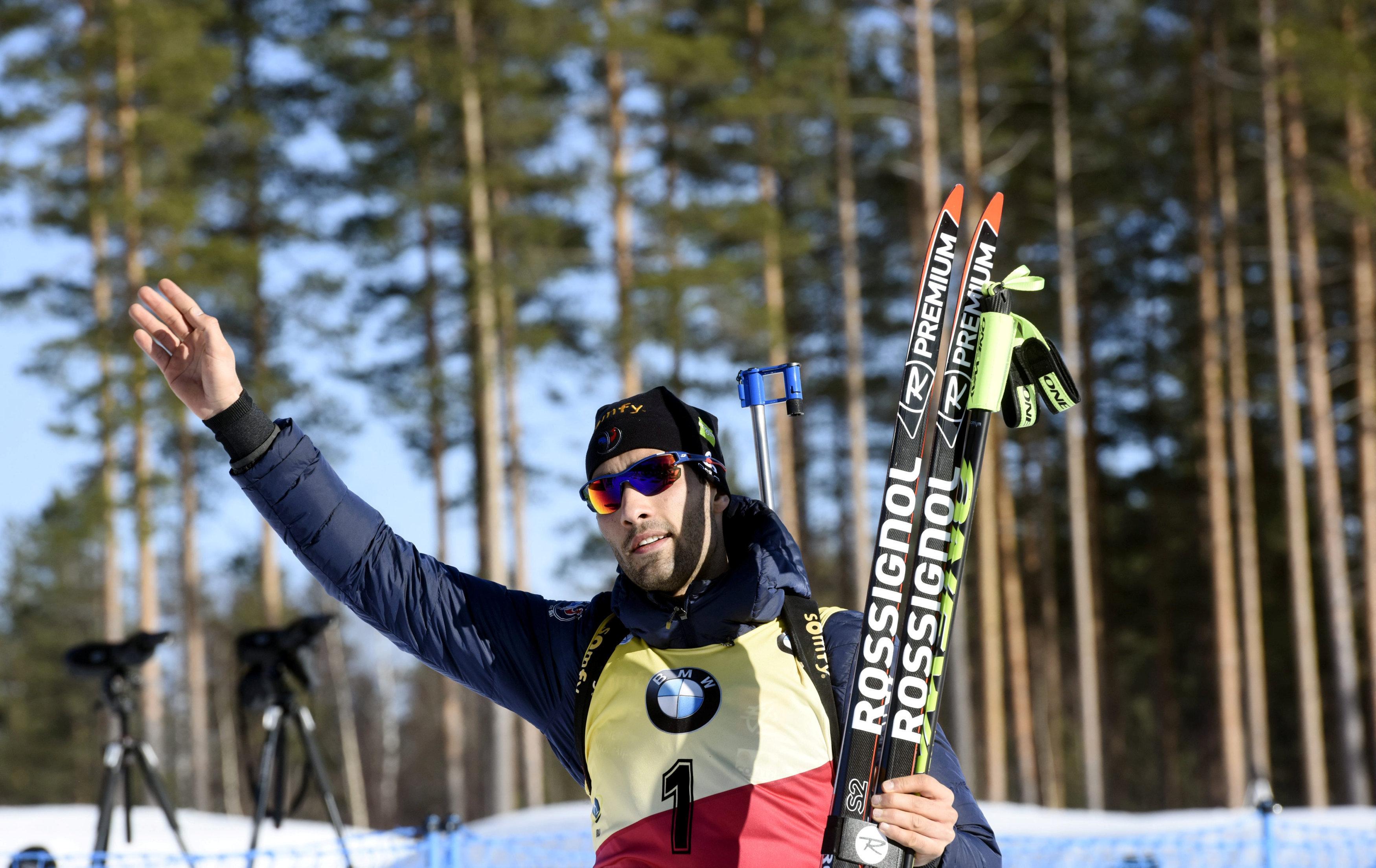 Французский биатлонист Мартен Фуркад преждевременно завершил сезон