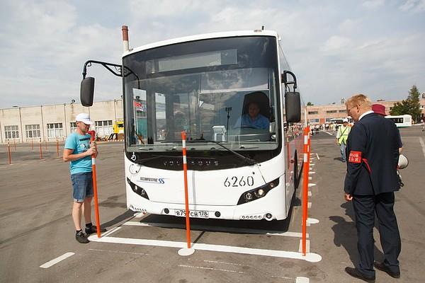 Конкурс профессионального мастерства автобусов
