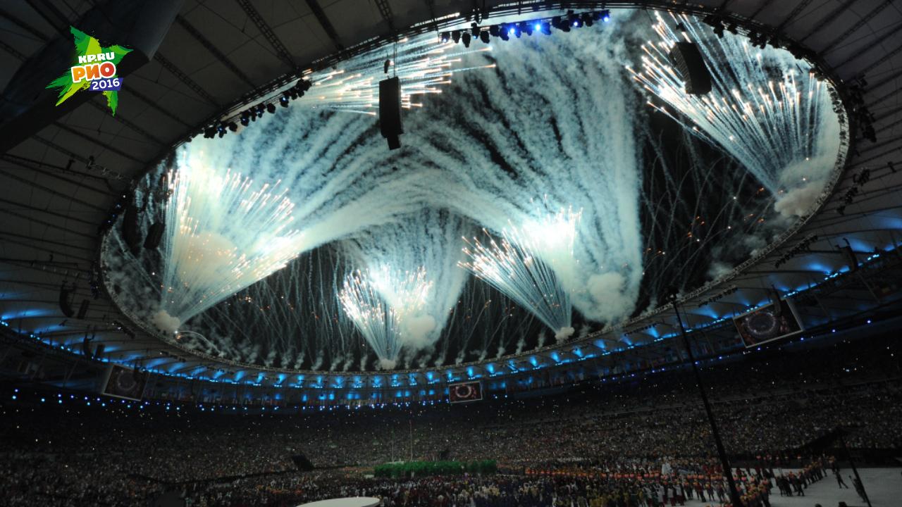 Музыка из заставки олимпийских игр 2016