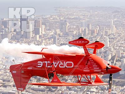 Американские пилоты показывают класс над Сан-Франциско