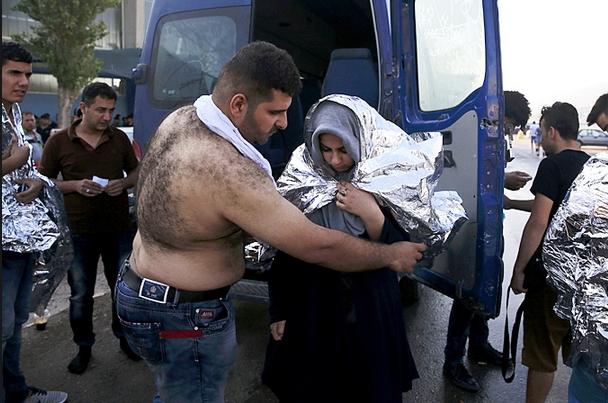 ве англосаксонских страны-союзницы целенаправленно приглашают беженцев последние недели к…немцам! Фото: REUTERS